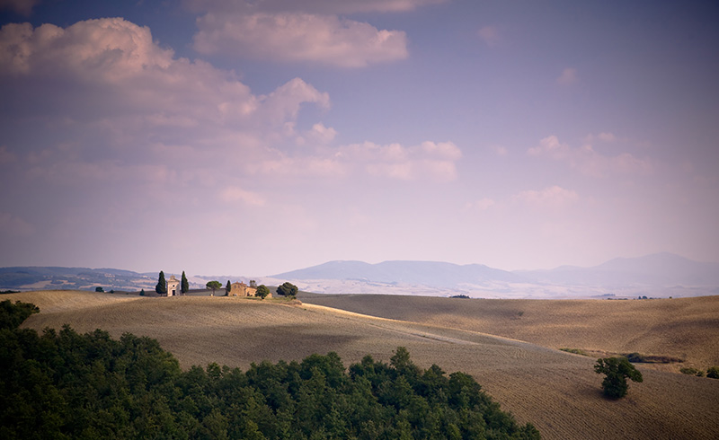 Tuscany countryside