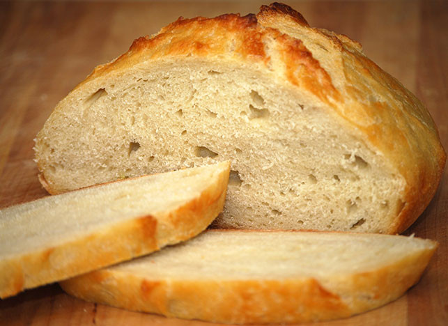 unsalted tuscan bread