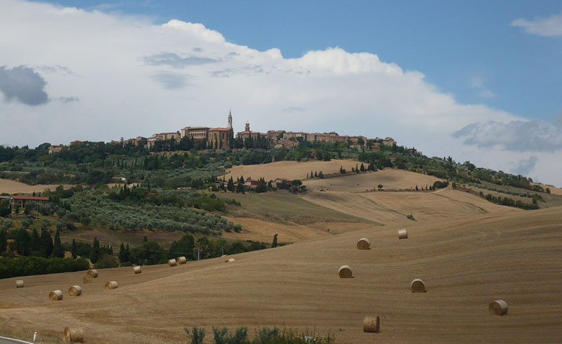 Pienza paese medievale in Toscana