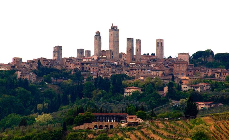 San Gimignano borgo in Toscana da visitare