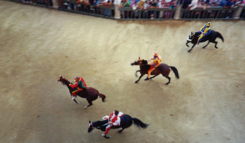 palio di siena events in tuscany
